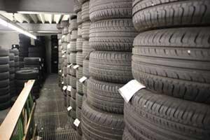 Unser Reifenlager
